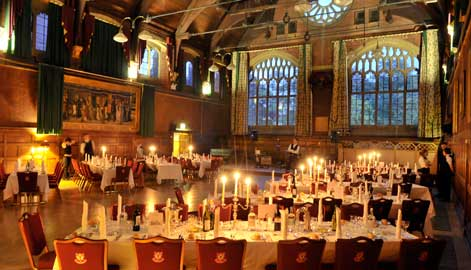 Great Hall, Homerton College (clearly I did not take this picture)